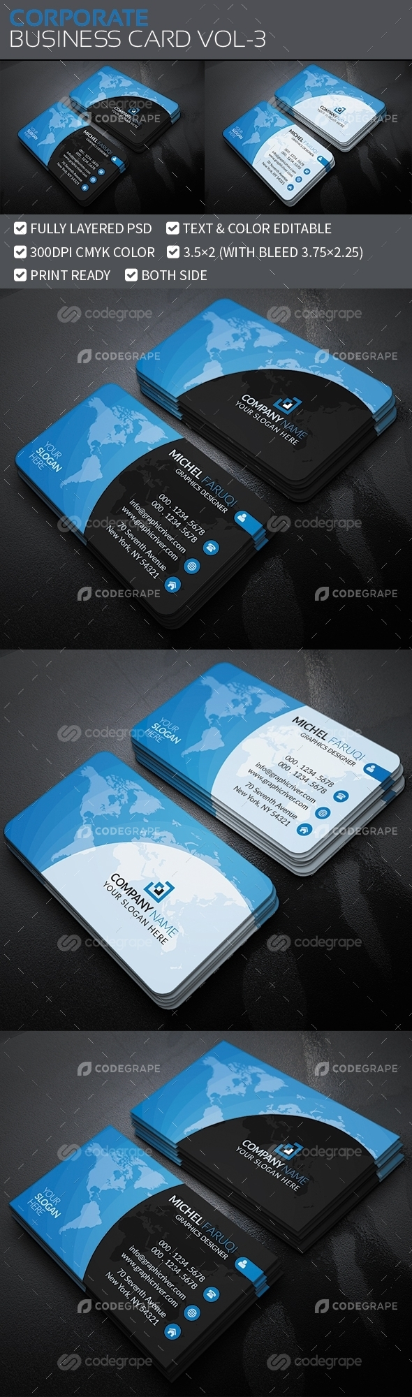 Corporate Business Card Vol-3