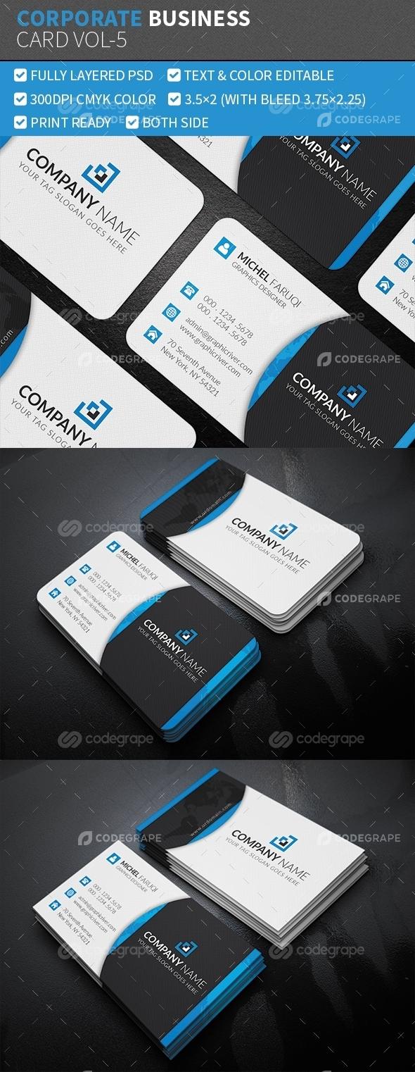 Corporate Business Card Vol-5