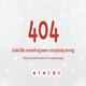 Snowflakes - Responsive 404 Error Template