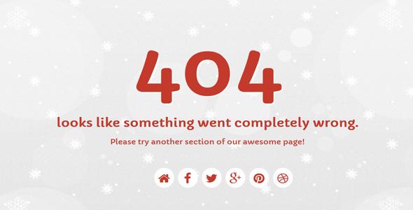 Discussion on snowflakes responsive 404 error template codegrape maxwellsz