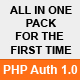 PHP Authentication 1.0 1 full