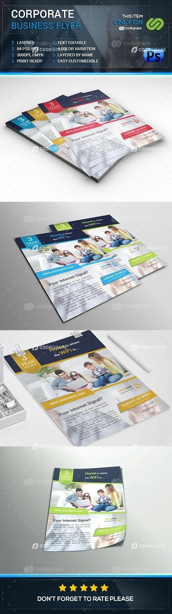 Corporate Business Flyer Vol. 2
