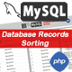 MySQL Drag and Drop Record Sorting (PHP)