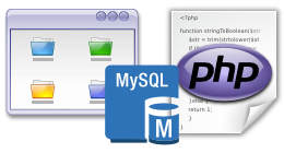 User Interface Builder with PHP/MySQL.