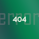 404 Error - Beautiful & Minimalistic