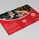 Eat & Gossip Trifold Brochure / Menu