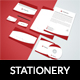 Flat Corporate Stationery Design