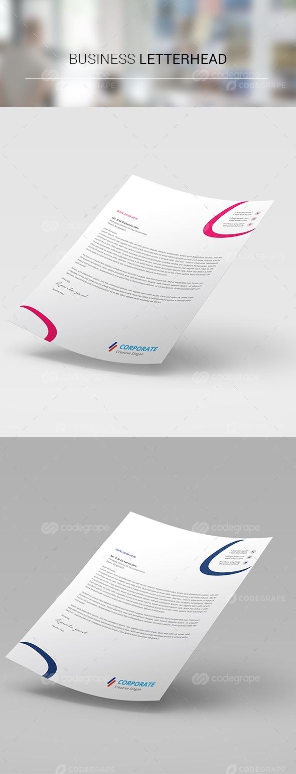 Corporate Business Letterhead-20