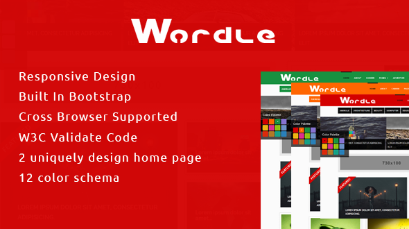 Wordle | Responsive HTML5 Blog