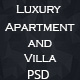 Luxury Apartments&Villa Luka PSD Template