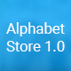 Alphabet Store eCommerce PSD Template