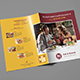 Eat & Gossip Bifold Brochure