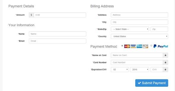 Braintree Payment Gateway