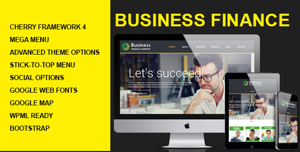 Business Finance Wordpress Theme