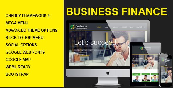 Business Finance Wordpress Theme