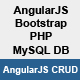 AngularJS CRUD with PHP & MySQL