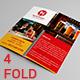 Eat & Gossip Four Fold Brochure / Menu