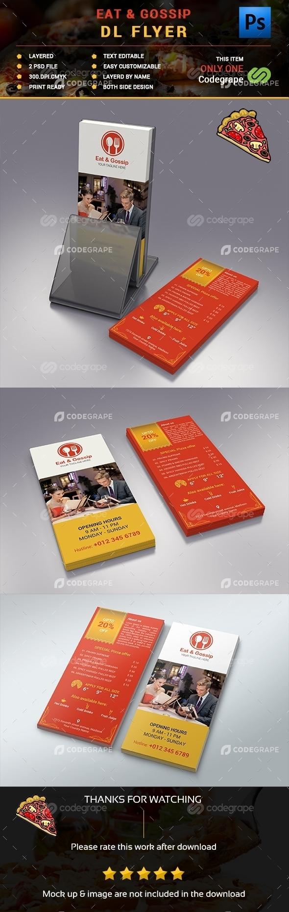 Eat & Gossip DL Flyer #01