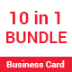 Business Card BUNDLE 10 in 1