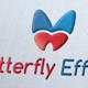 Butterfly Effect Logo Template