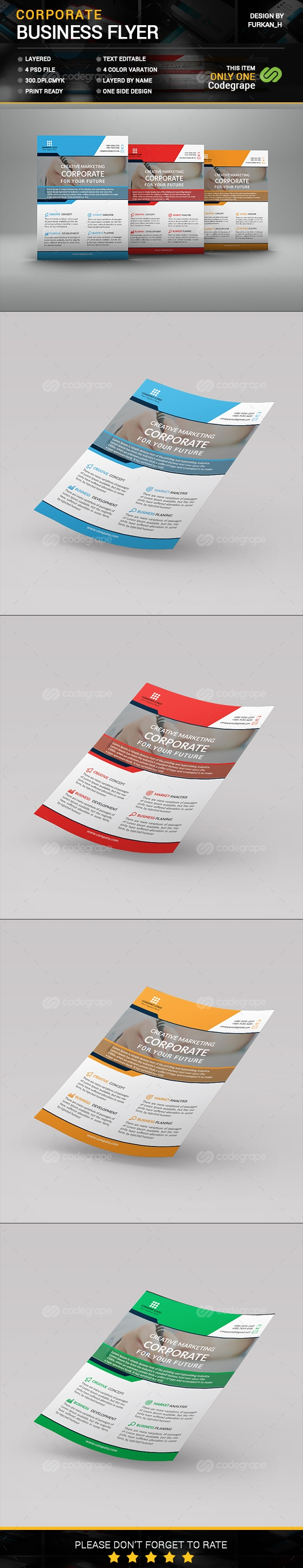 Corporate Flyer Tamplate