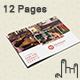 12 Pages Restaurant Menu