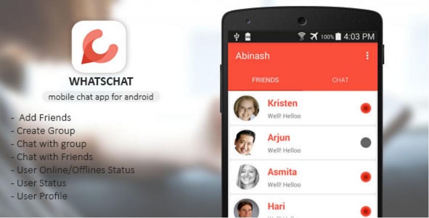 Whatschat - Whatsapp Clone