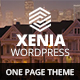 Xenia Responsive One Page Parallax WordPress Theme