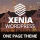 Xenia Responsive One Page Parallax WordPress Theme