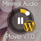 Wordpress Minimal Audio Player