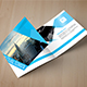 Square Business Trifold Brochure