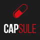 CAPSULE - One Page Responsive Medical Template