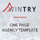 WINTRY - One page Responsive Agency Template