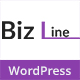 Biz Line Responsive Multipurpose WordPress Theme