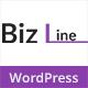 Biz Line Responsive Multipurpose WordPress Theme