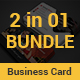 Restaurant Business Card Bundle 2 in 1