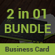 Business Card Bundle 2 in 1