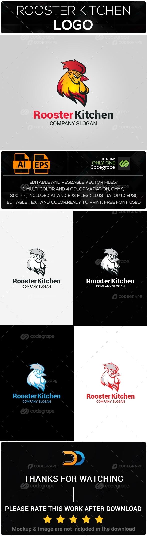 Rooster Kitchen Logo