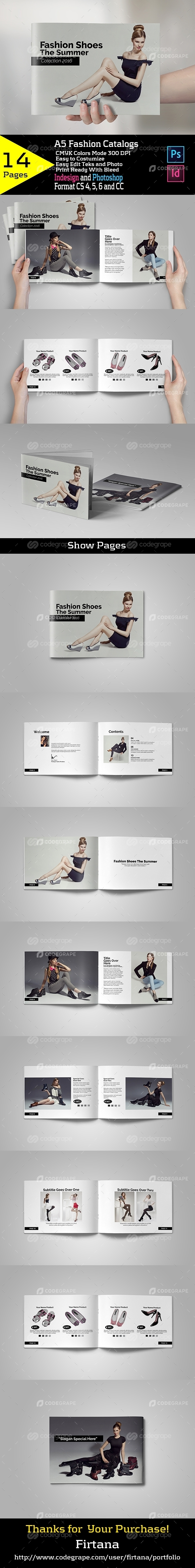 A5 Fashion Catalogs