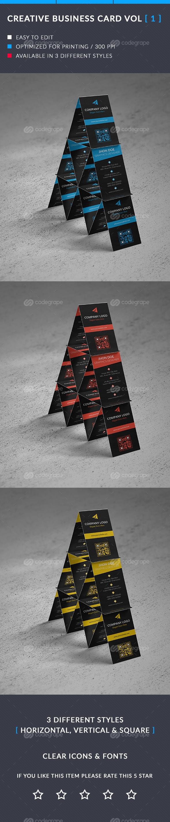 Creative Business Card Vol -1