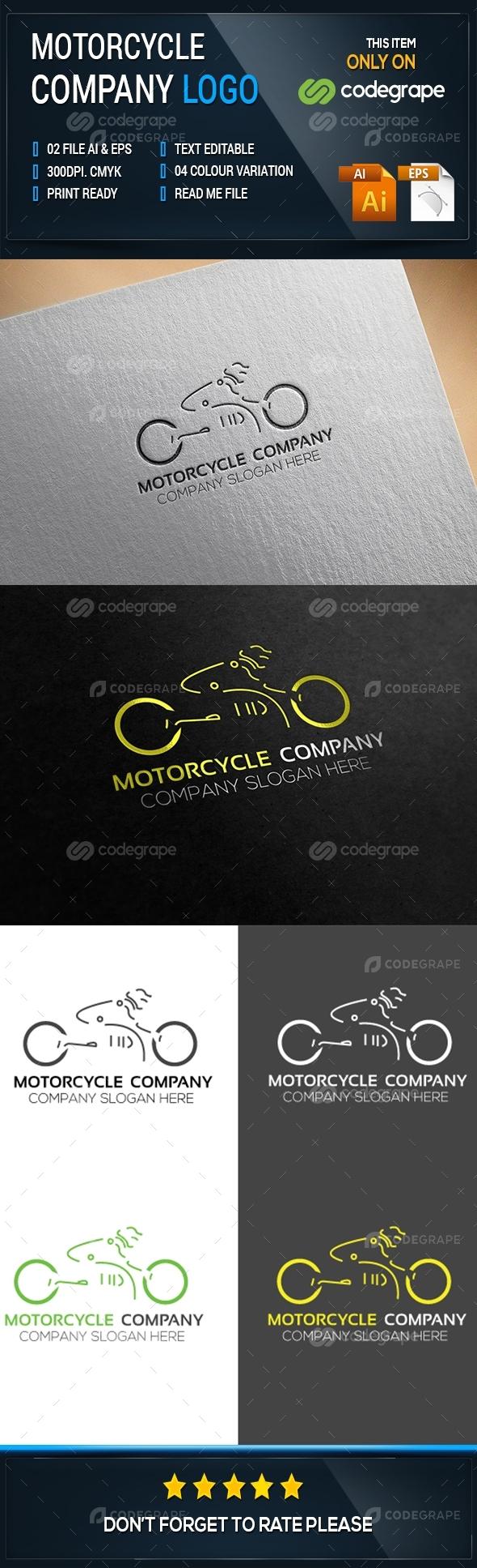 Motorcycle Company Logo