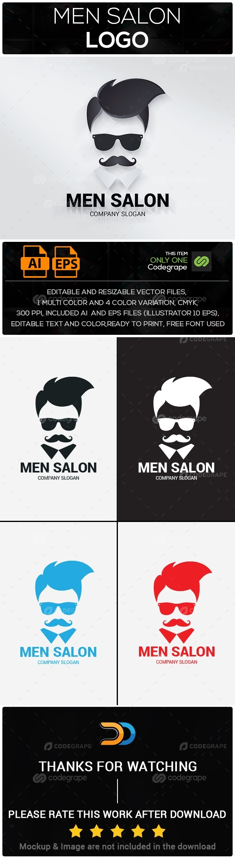 Men Salon Logo