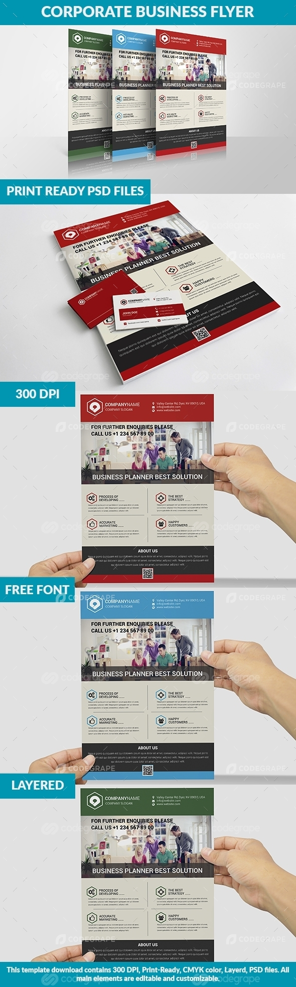 Minimal Business Flyer Vol:1
