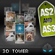 Amazing 3D Tower Navigation AS2 and AS3
