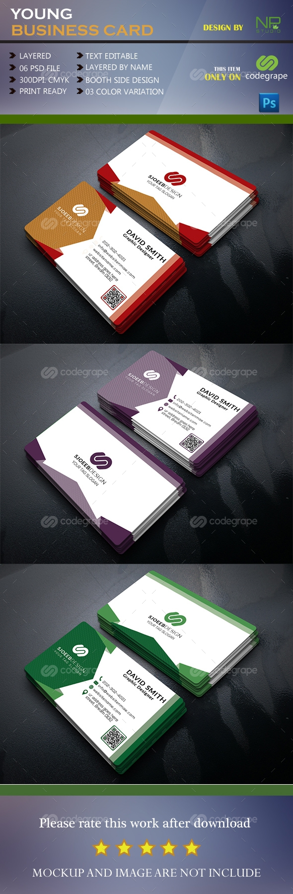 Young Business Card