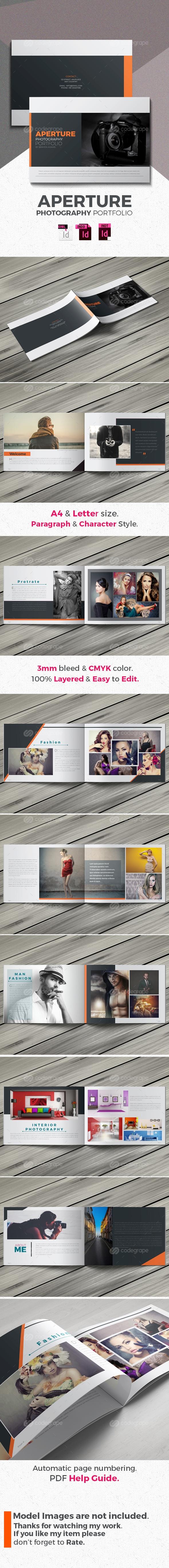 Aperture- Photography Portfolio Brochure