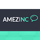 AmazInc Website Template PSD