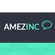 AmazInc Website Template PSD