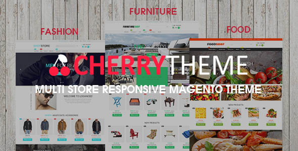 Cherry - Multi Store Magento Theme Responsive