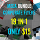 Mega Bundle Corporate Flyers 19 in 1